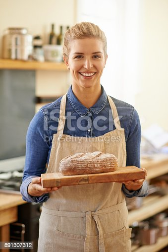 istock I just love the smell of freshly baked bread 891307312