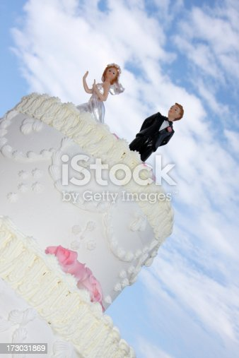 istock Just married 173031869