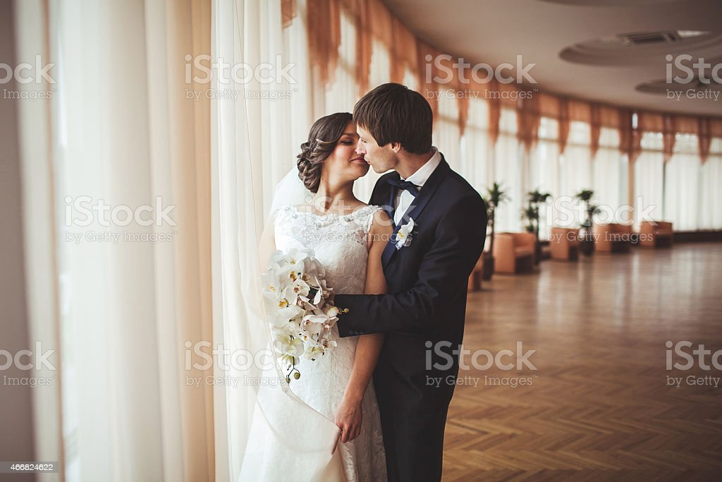 Just Married stock photo