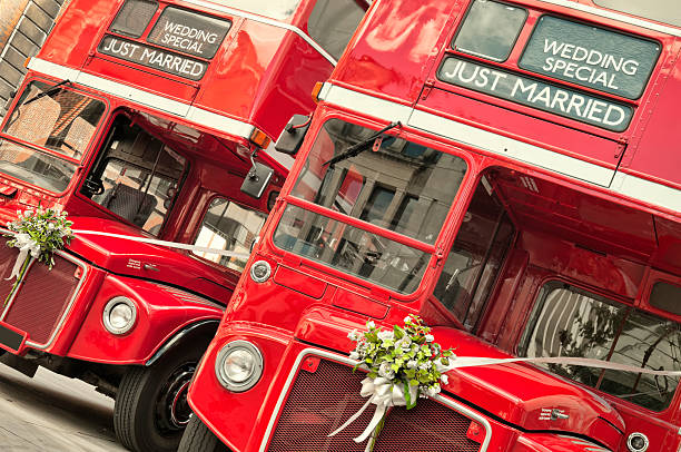 """""""Just Married""""  (London) stock photo"""
