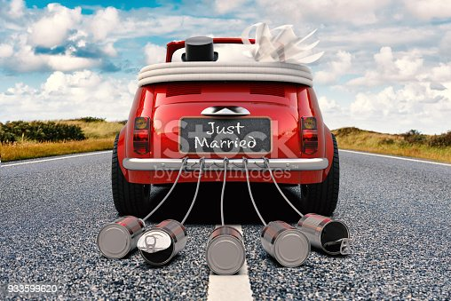 istock Just Married 933599620