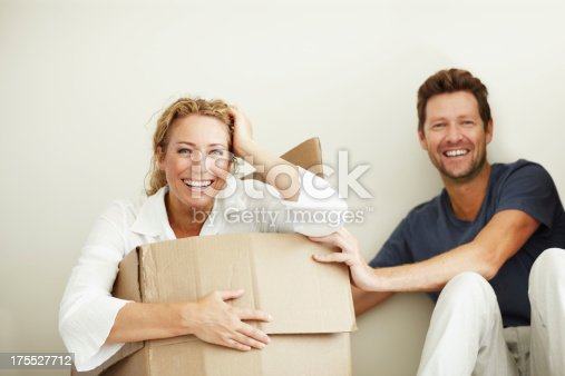 istock Just moved in and already having fun! 175527712