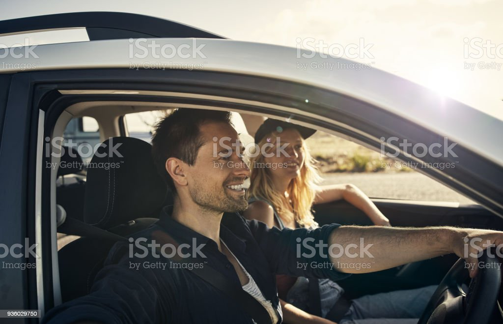 Just one more stop and we're there stock photo