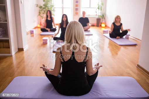 istock Just relax and let your mind be empty 673570522