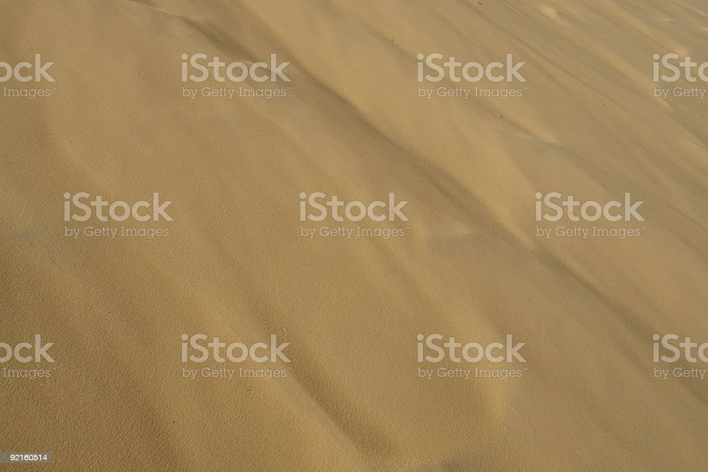 Just sand royalty-free stock photo