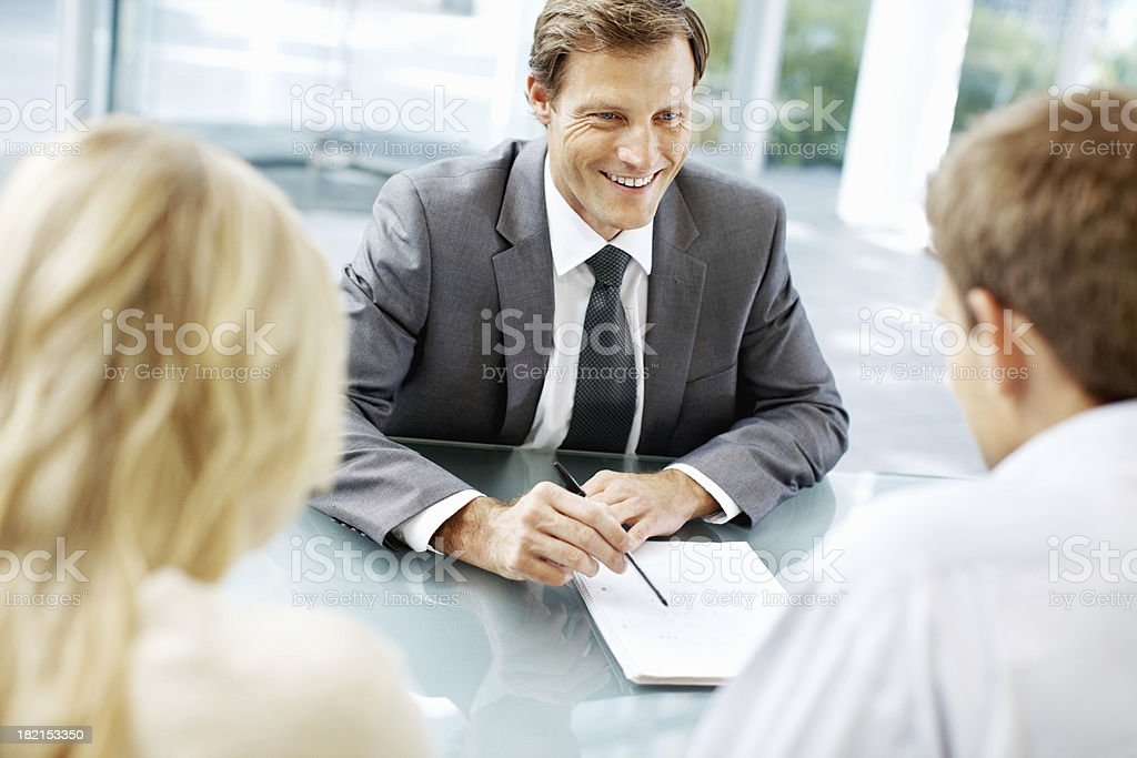 Just sign here royalty-free stock photo