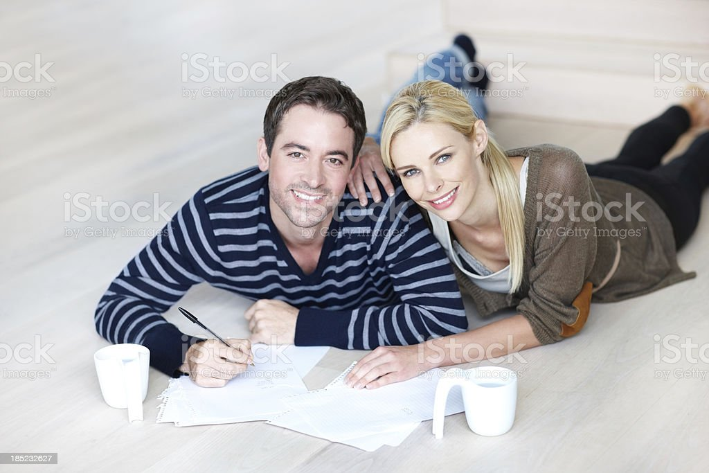 Just starting out together royalty-free stock photo