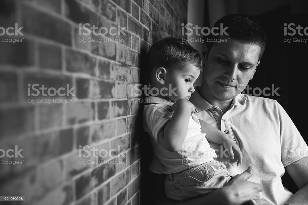 Just two of us stock photo
