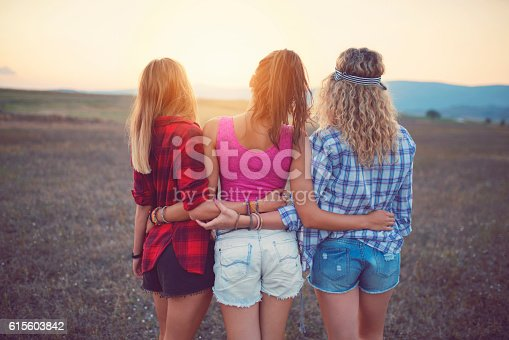 istock Just Us Girls! 615603842