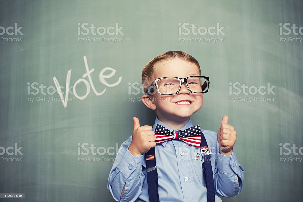 Just Vote stock photo