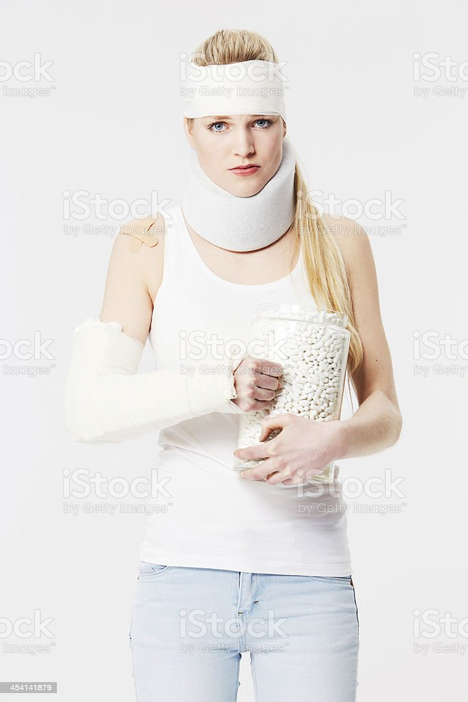 I just want to heal! stock photo