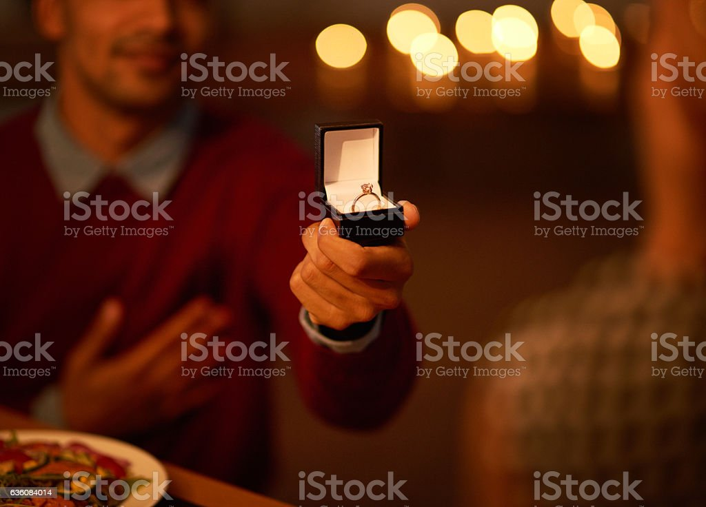 I just want you to be mine forever stock photo