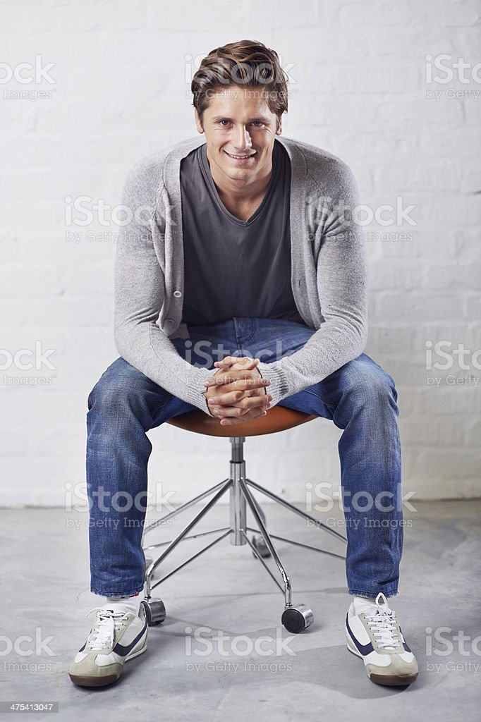 Just your average dream guy stock photo