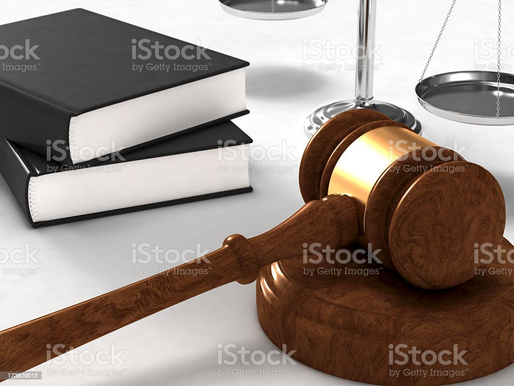 Justice & Law Concept royalty-free stock photo