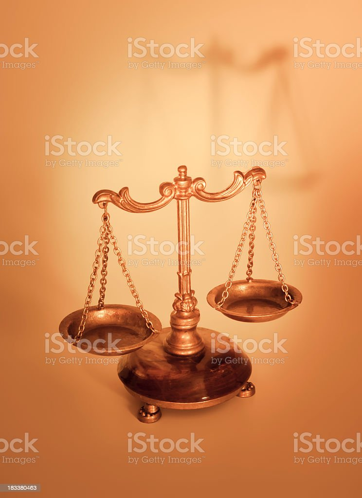 Justice and Liberty royalty-free stock photo