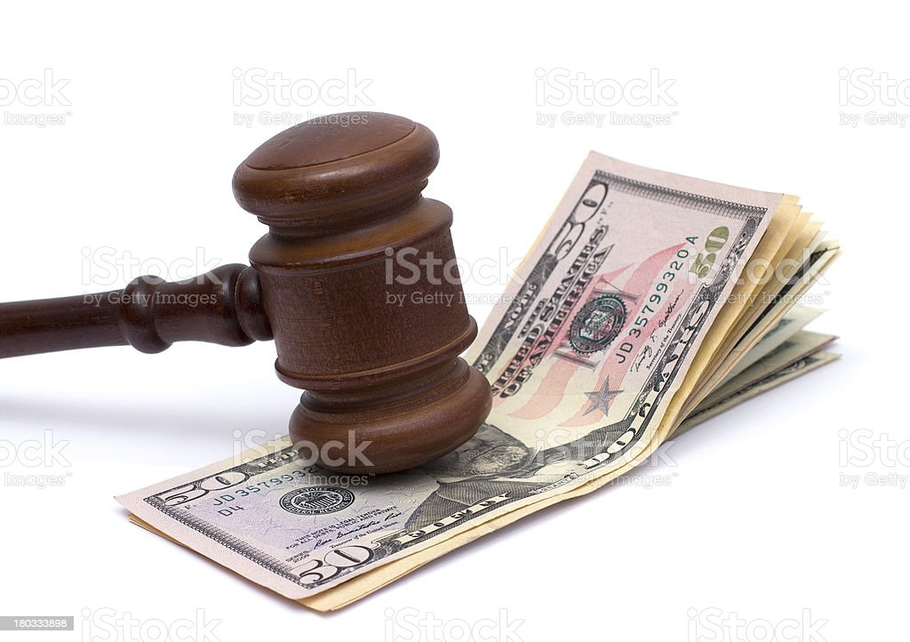 justice and money royalty-free stock photo