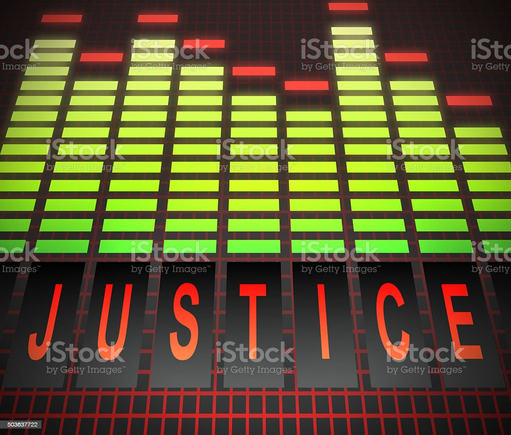 Justice concept. stock photo