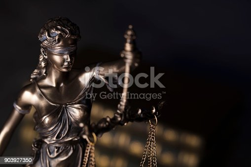 istock Justice concept. 903927350