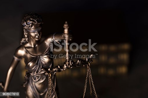 istock Justice concept. 903927610
