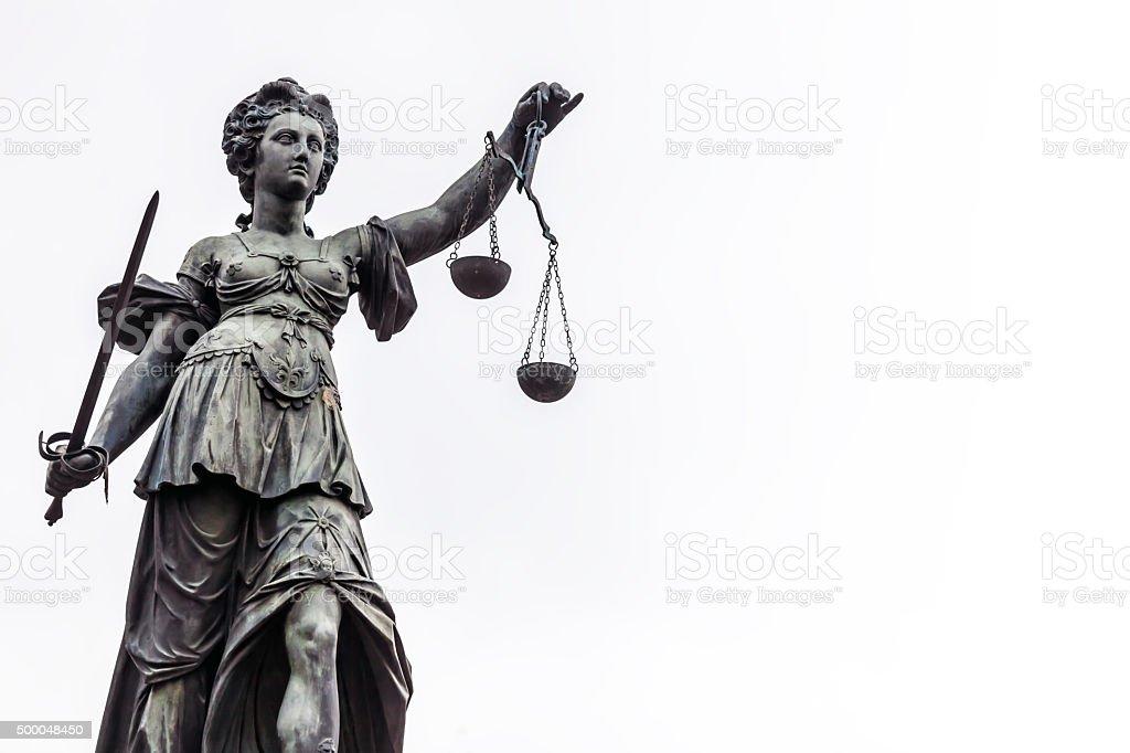 Gerechtigkeit in Frankfurt – Foto