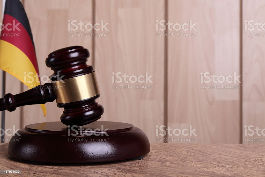 Justice in Germany stock photo