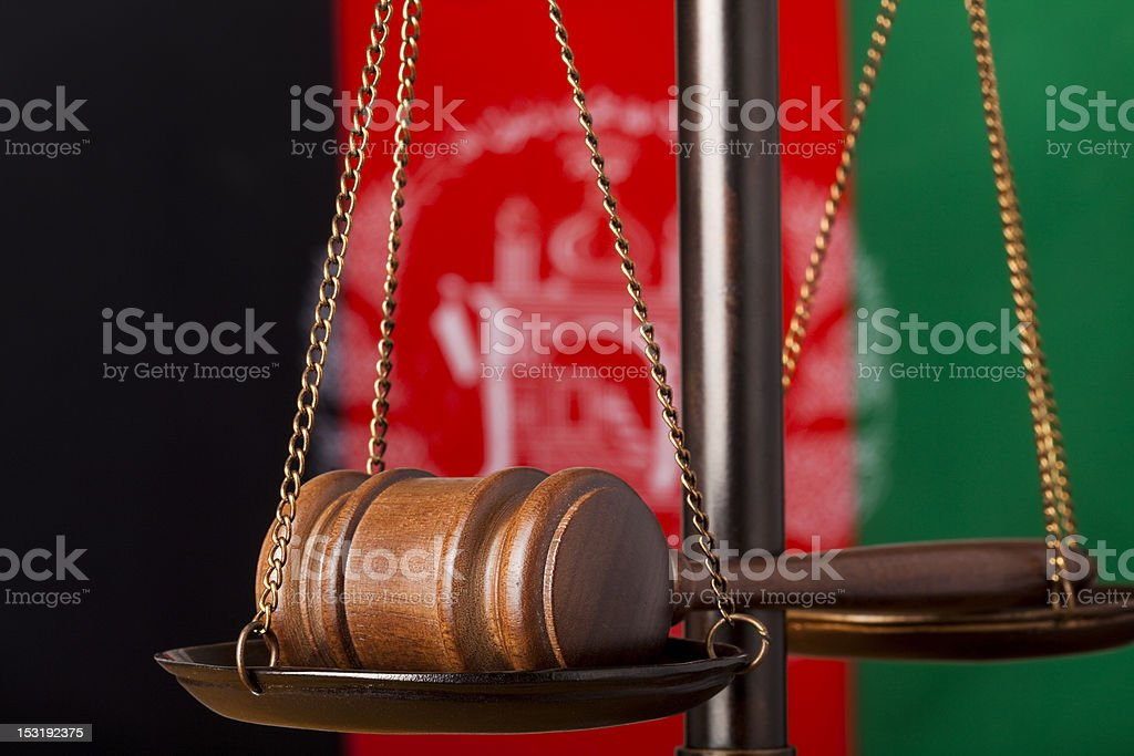 Justice international series stock photo