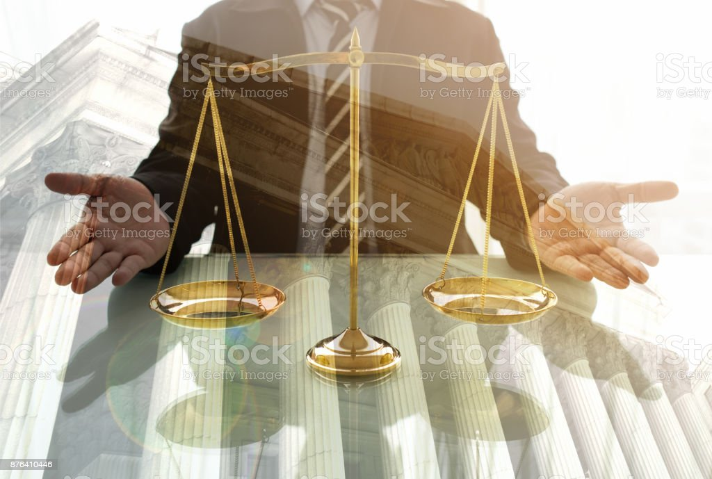 justice judge stock photo