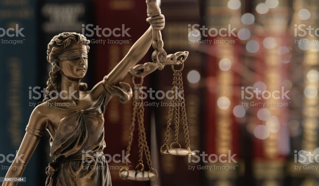 Ley de la justicia legal - foto de stock