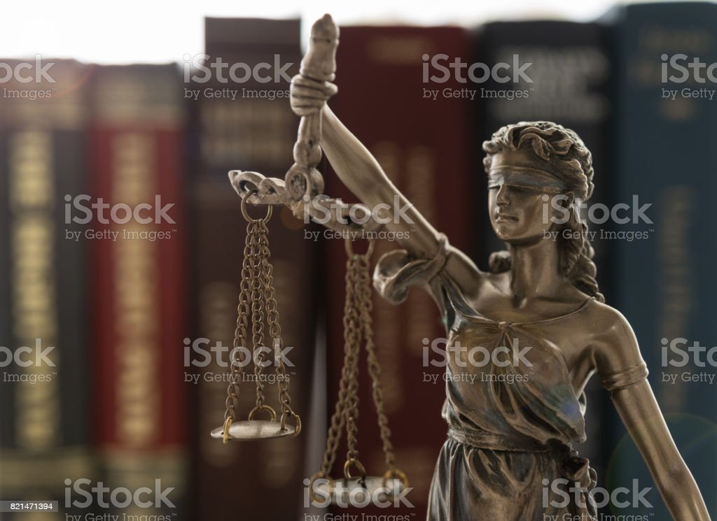 justice law stock photo
