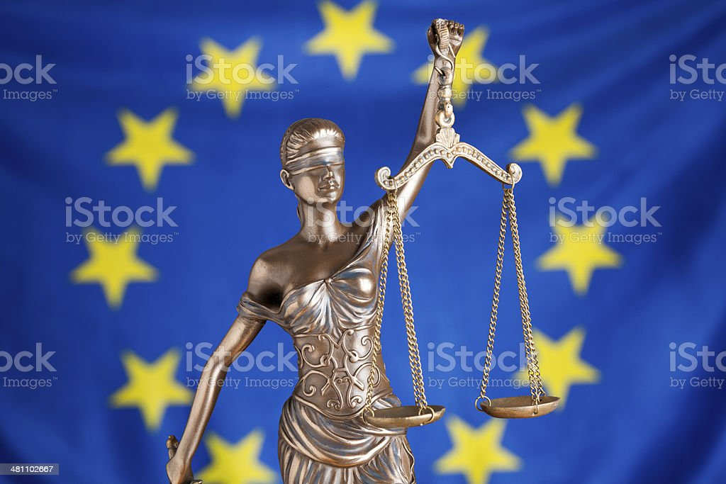 EU justice stock photo