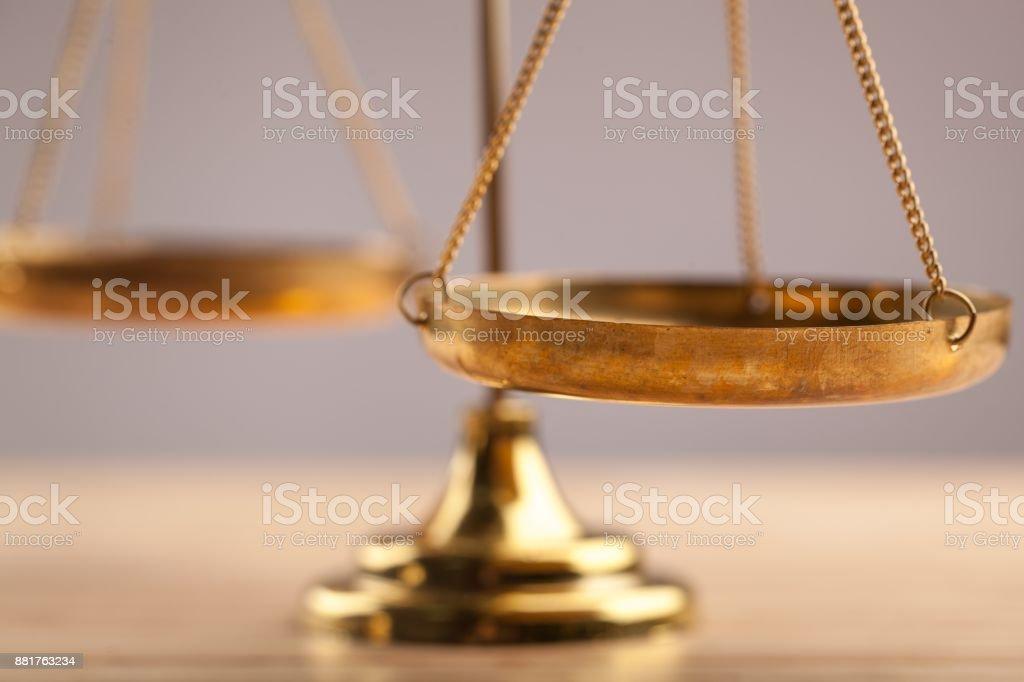 Justicia. - foto de stock