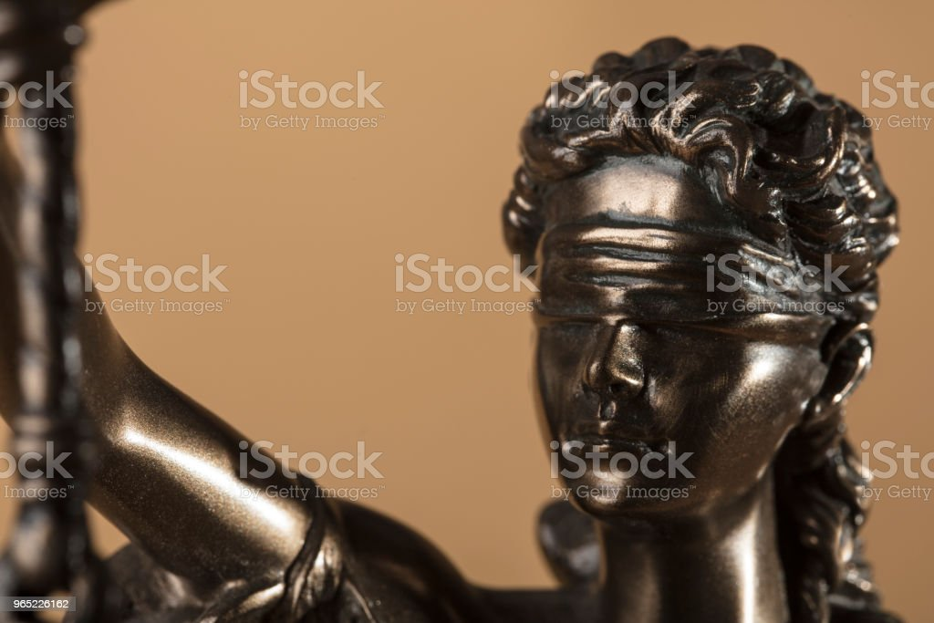 Justizia Figure royalty-free stock photo