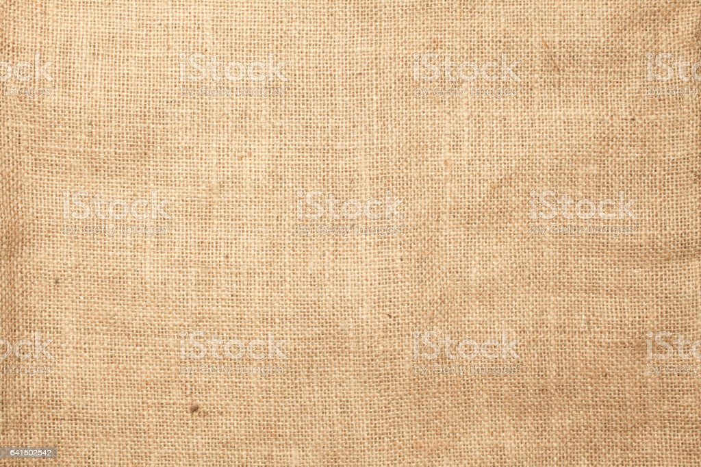 Jute bag texture background stock photo