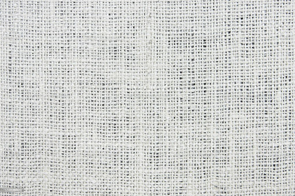 Jute Gauze Woven Fabric Textile royalty-free stock photo