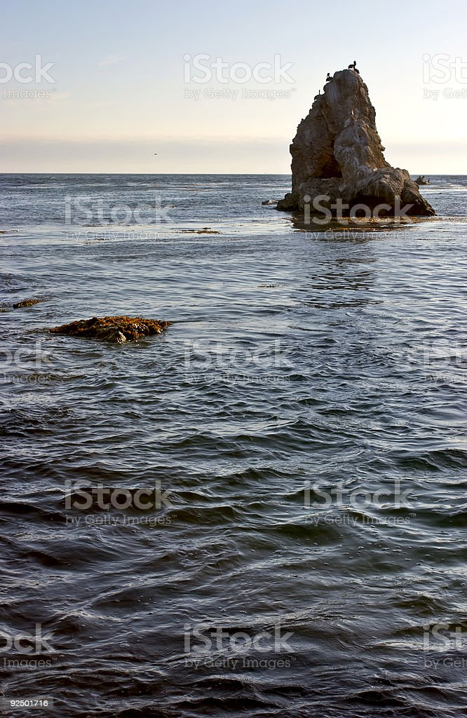 Jutting Rock royalty-free stock photo