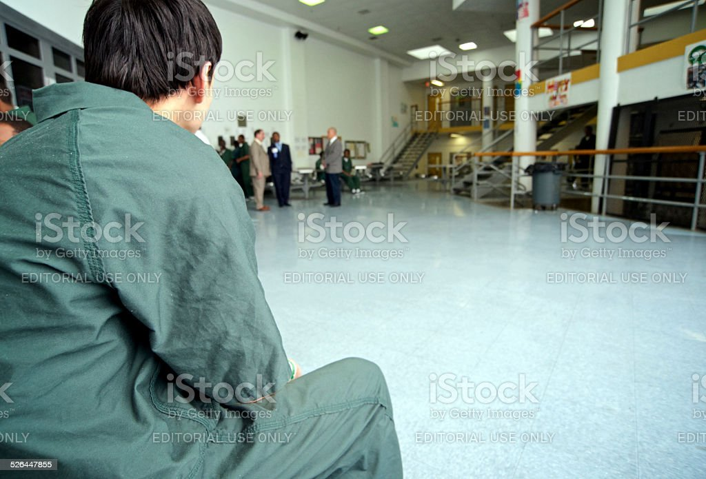 Juvenile Detention Center at Philadelphia Prison System royalty-free stock photo