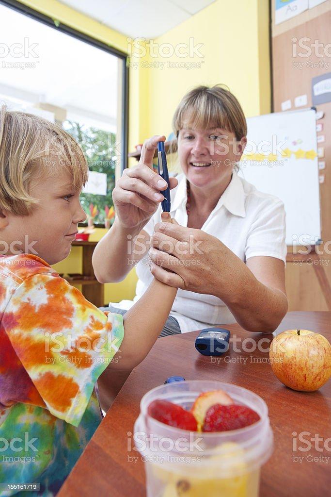 Juvenile diabetes royalty-free stock photo