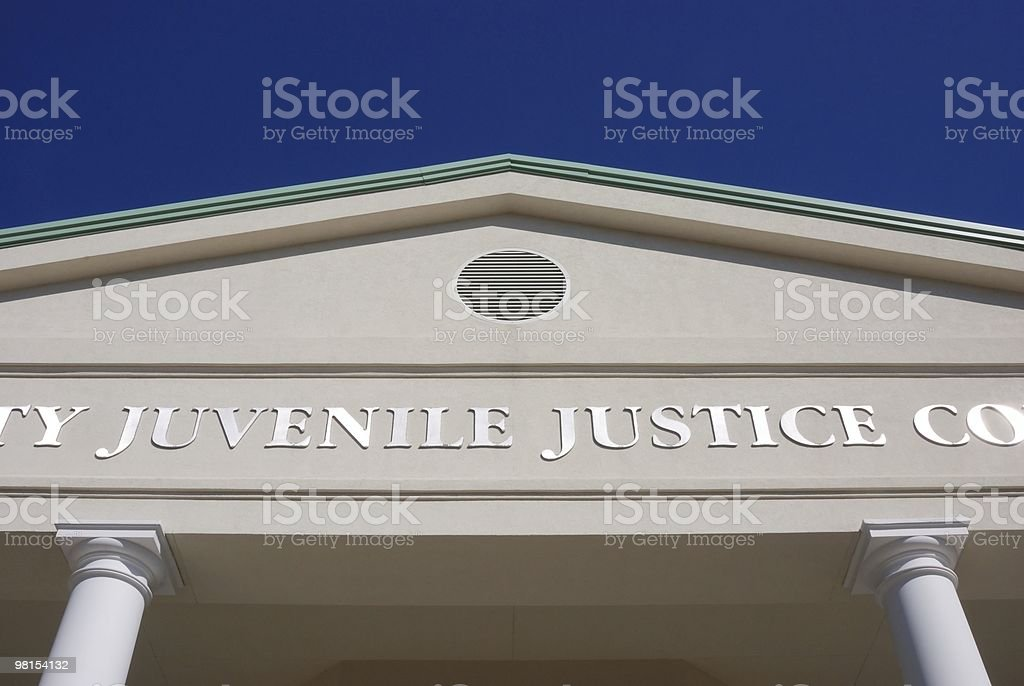 Juvenile Justice Courthouse royalty-free stock photo