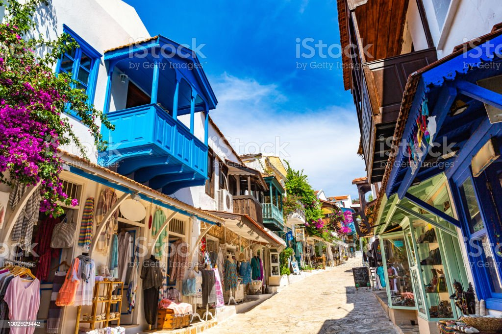 Kaş Antalya stock photo