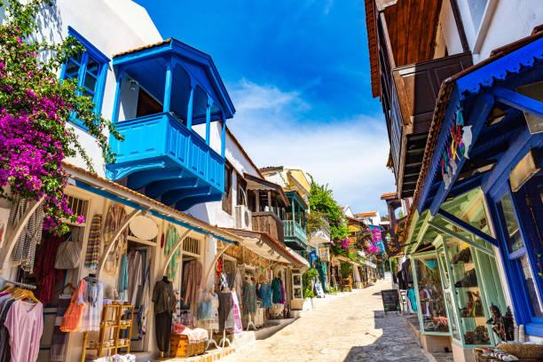 Kaş Antalya stock photo