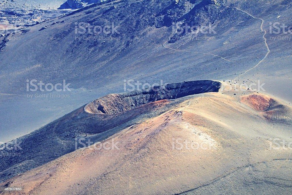 Ka Luu Oka Oo Crater stock photo