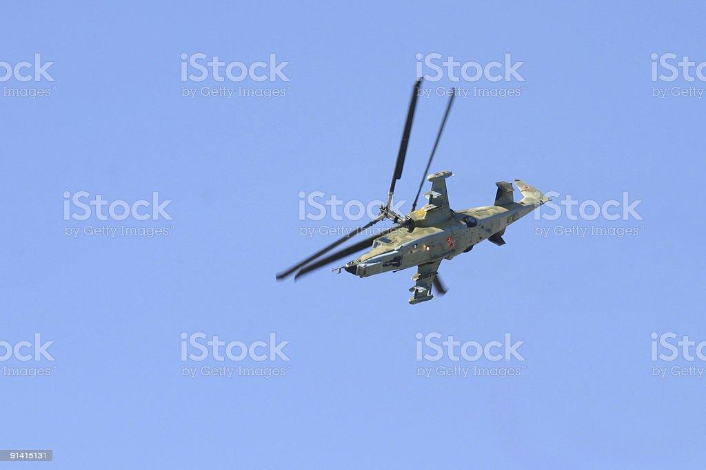 Ka-50 Hokum (Black Shark) royalty-free stock photo