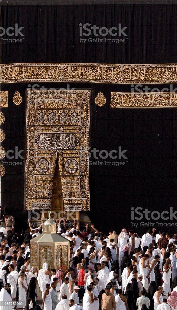 Kaaba Kaaba's Door Architecture Stock Photo