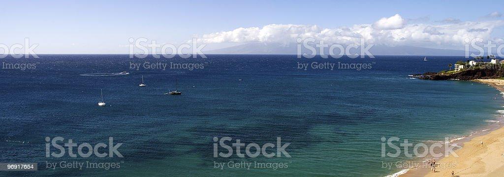 Kaanapali Beach royalty-free stock photo
