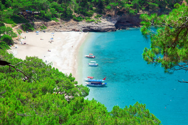 Kabak beach in der Türkei – Foto