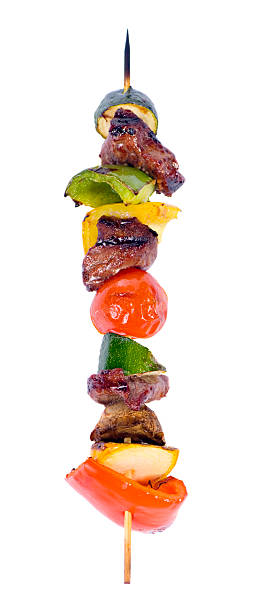 Kabobs stock photo