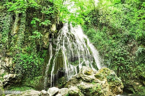 Waterfall in North of Iran