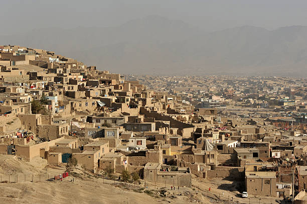 Kabul city view, Afghanistan