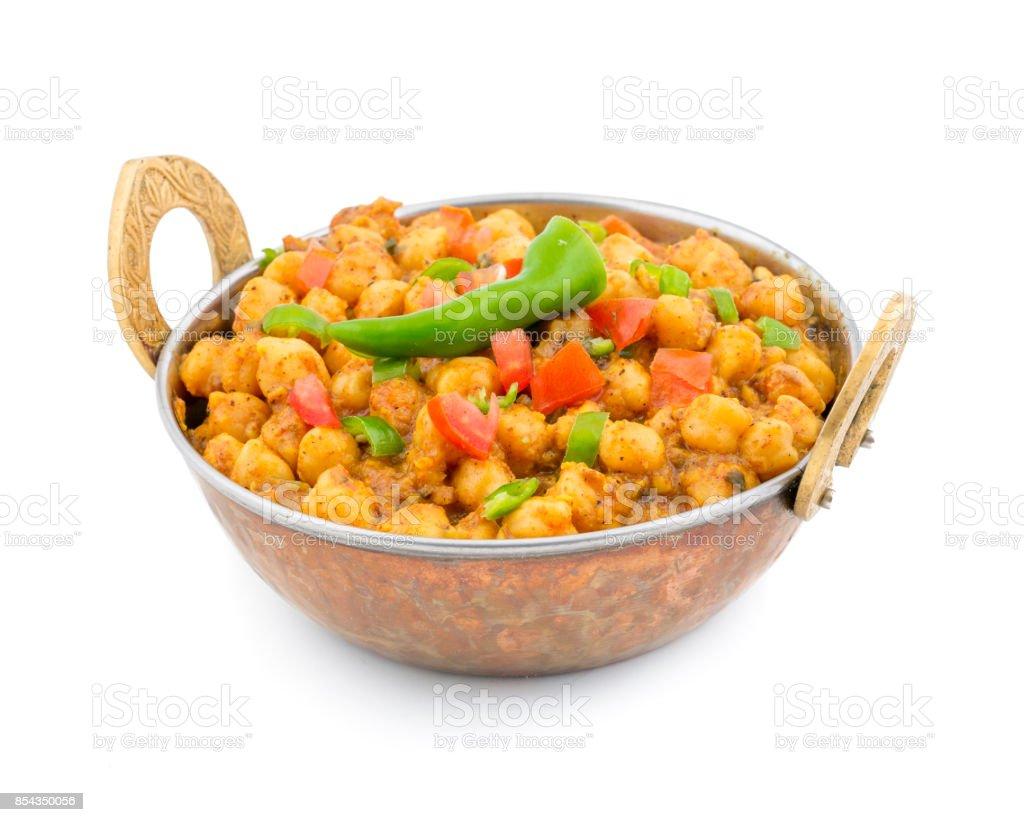 Kabuli Chana vegetable stock photo