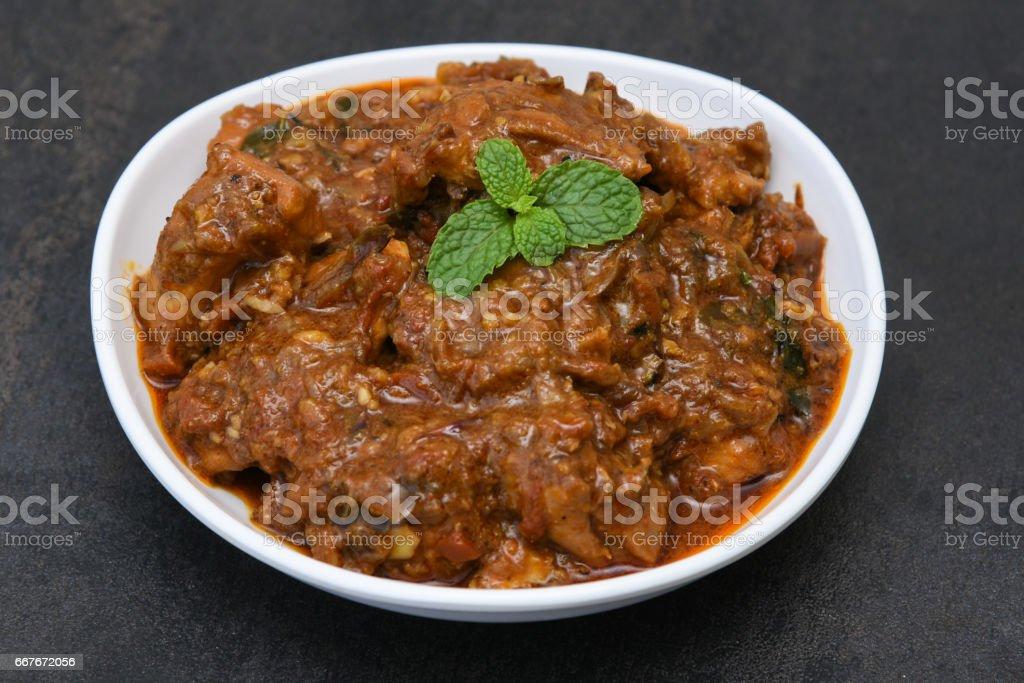 Chicken curry indisch